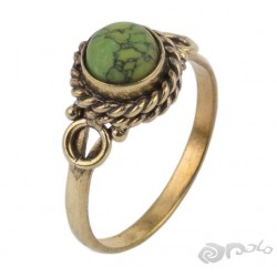 ANILLO BRONCE MINERAL