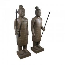 MAH 13 Soldier Oriental Estatue 1,50m