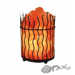 WAVEY METAL BASKET LAMPARA DE SAL