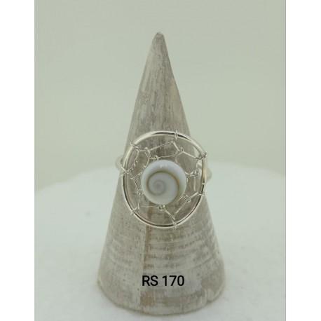 RS 170 Atrapasueños Shiva anillo